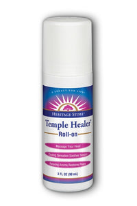Temple Healer Roll-On Heritage Store 3 oz Roll-on