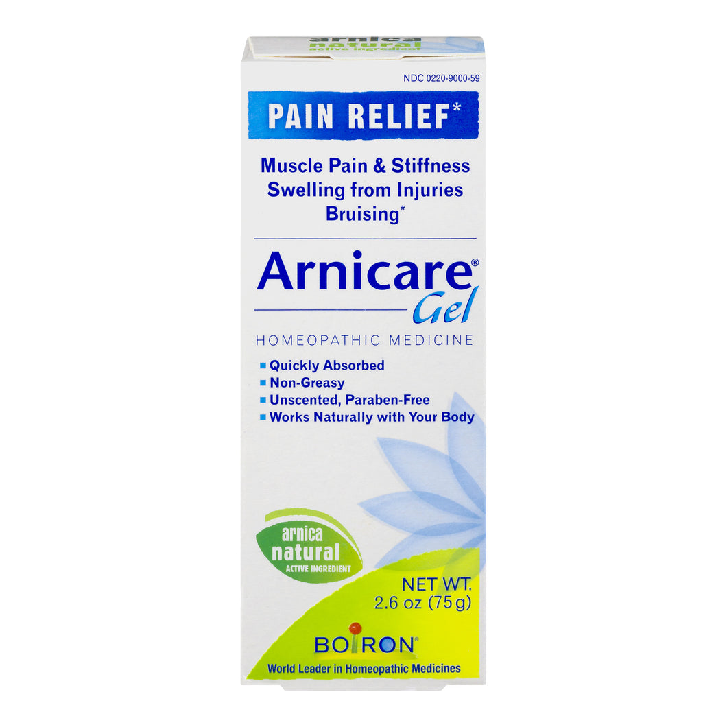 Boiron Arnicare Gel Homeopathic Medicine Pain Relief, 2.6 OZ