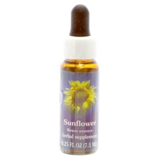 Flower Essence Services 702063 0.25 oz Sunflower Flower Essence Dropper - 12 Per Case
