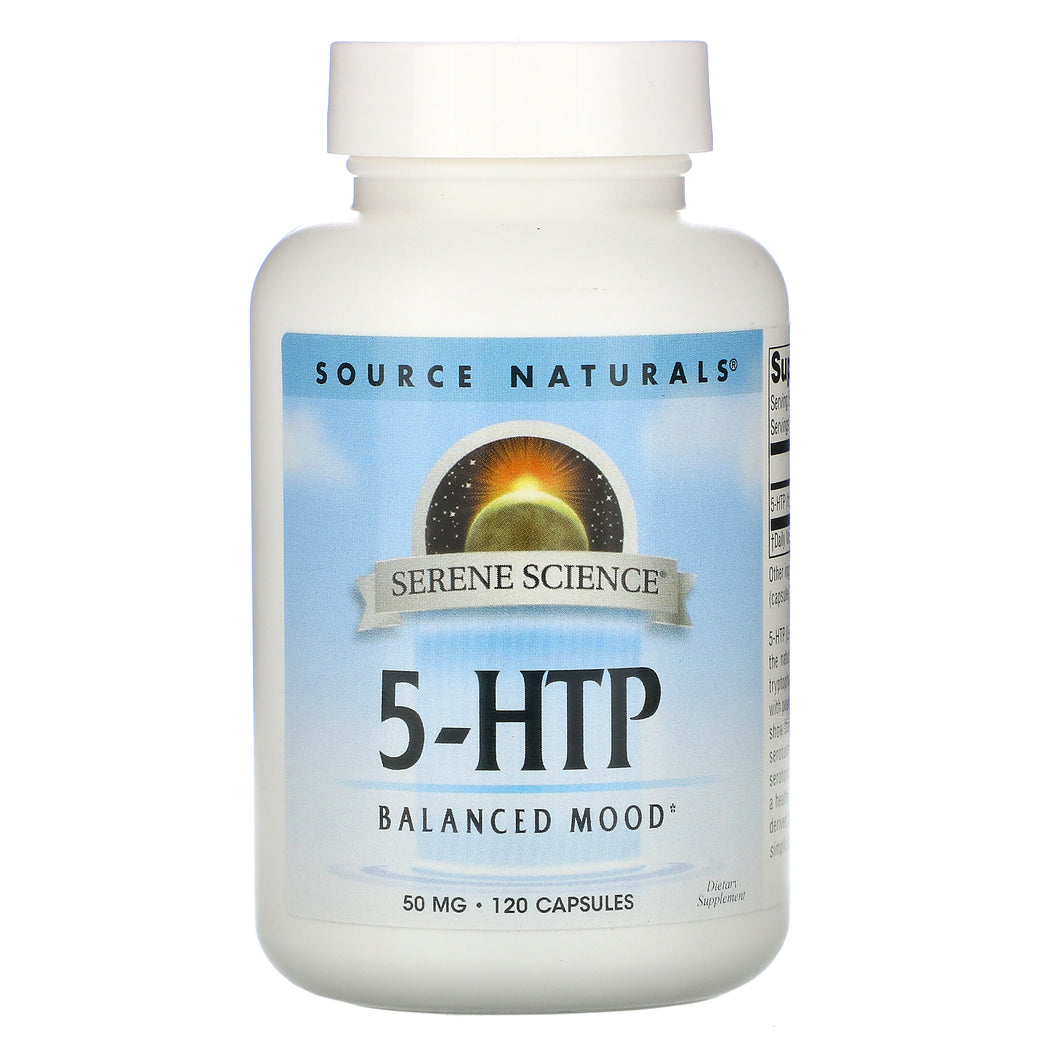 Source Naturals Source Naturals  5-HTP, 120 ea