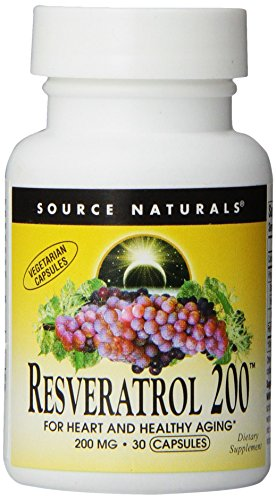 Source Naturals Resveratrol 200, For Heart and Healthy Aging