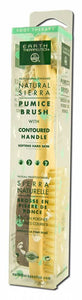 Earth Therapeutics - Natural Sierra Pumice Brush Handle