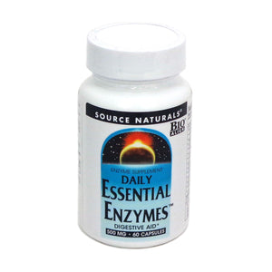 Source Naturals Daily Essential Enzymes Capsules, 60 Ct