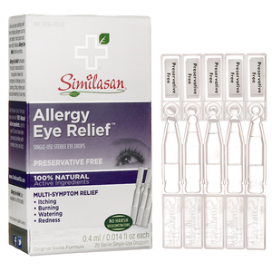 Similasan Allergy Eye Relief Eye Drops Single-Use 20 Doses