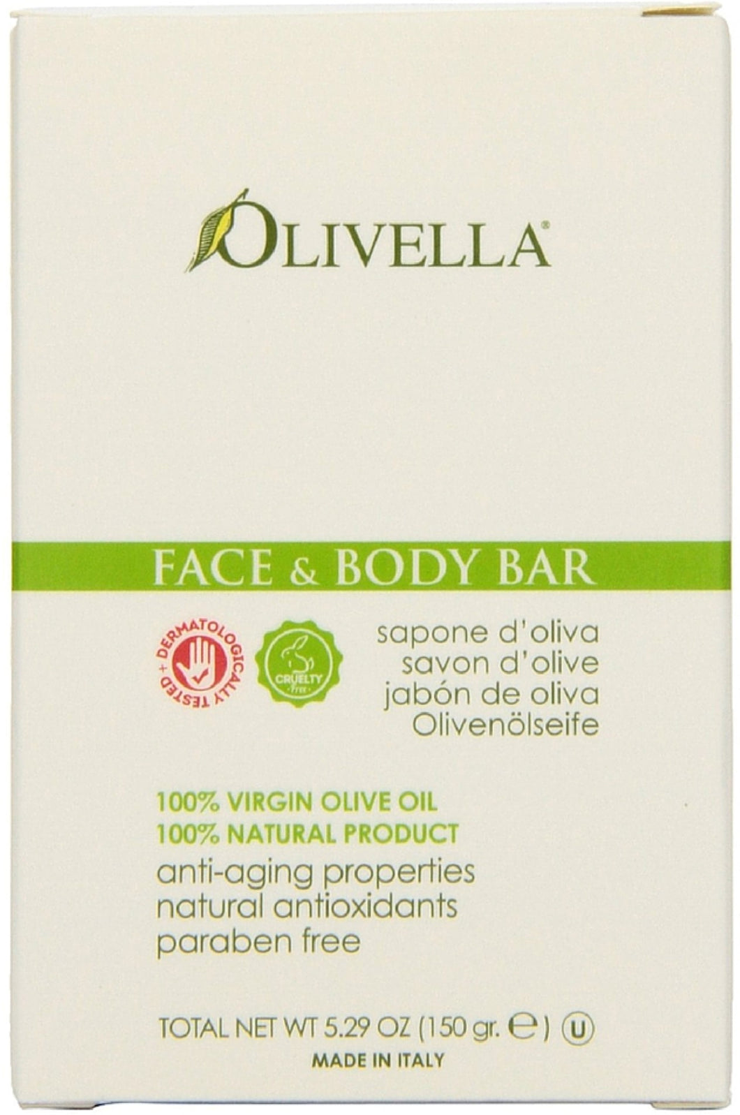 Olivella Face and Body Bar 5.29 oz