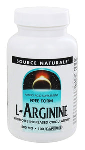 Source Naturals Source Naturals  L-Arginine, 100 ea