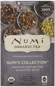 Numi Organic Assorted Tea Bags Numi's Collection - 16 CT