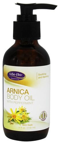 Life-Flo - Arnica Body Oil with Peppermint - 4 oz.