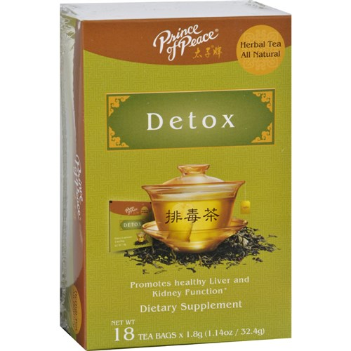 Prince of Peace Tea - Herbal - Detox - 18 Bags Wellness Teas