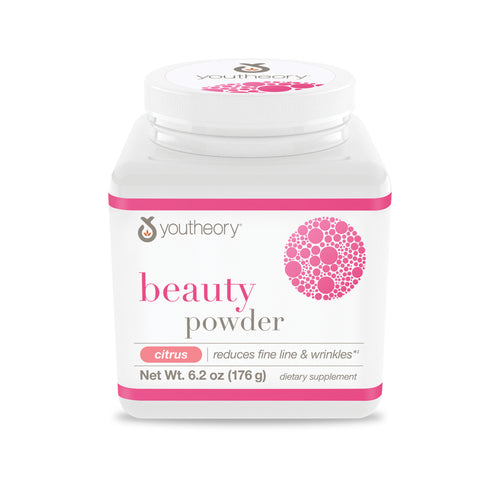 Youtheory Beauty Powder 6.2 oz (Citrus Flavor)