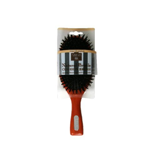 Earth Therapeutics Life + Style Natural Bristle Cushion Brush, 1 Brush