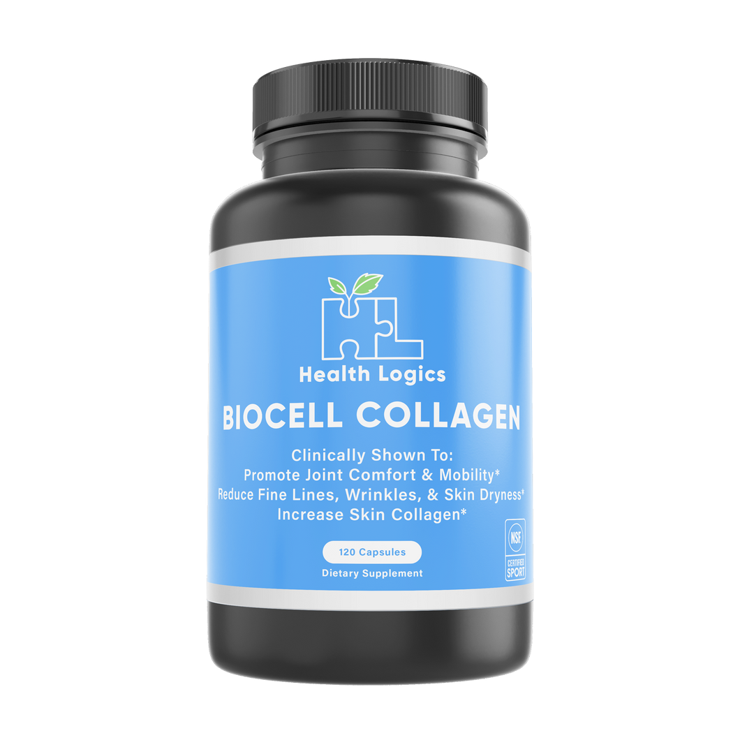 Health Logics BioCell Collagen® 120 Capsules NSF Certified Sport