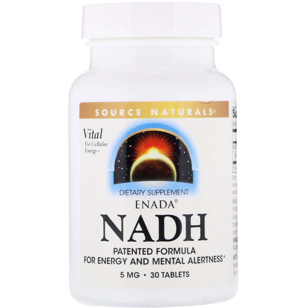 Source Naturals Source Naturals  NADH, 30 ea