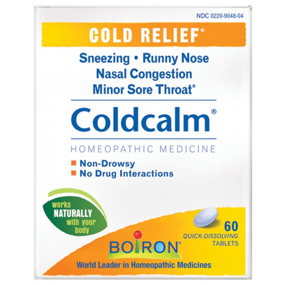 Boiron Coldcalm, Homeopathic Medicine for Cold Relief, 60 Count Tablets