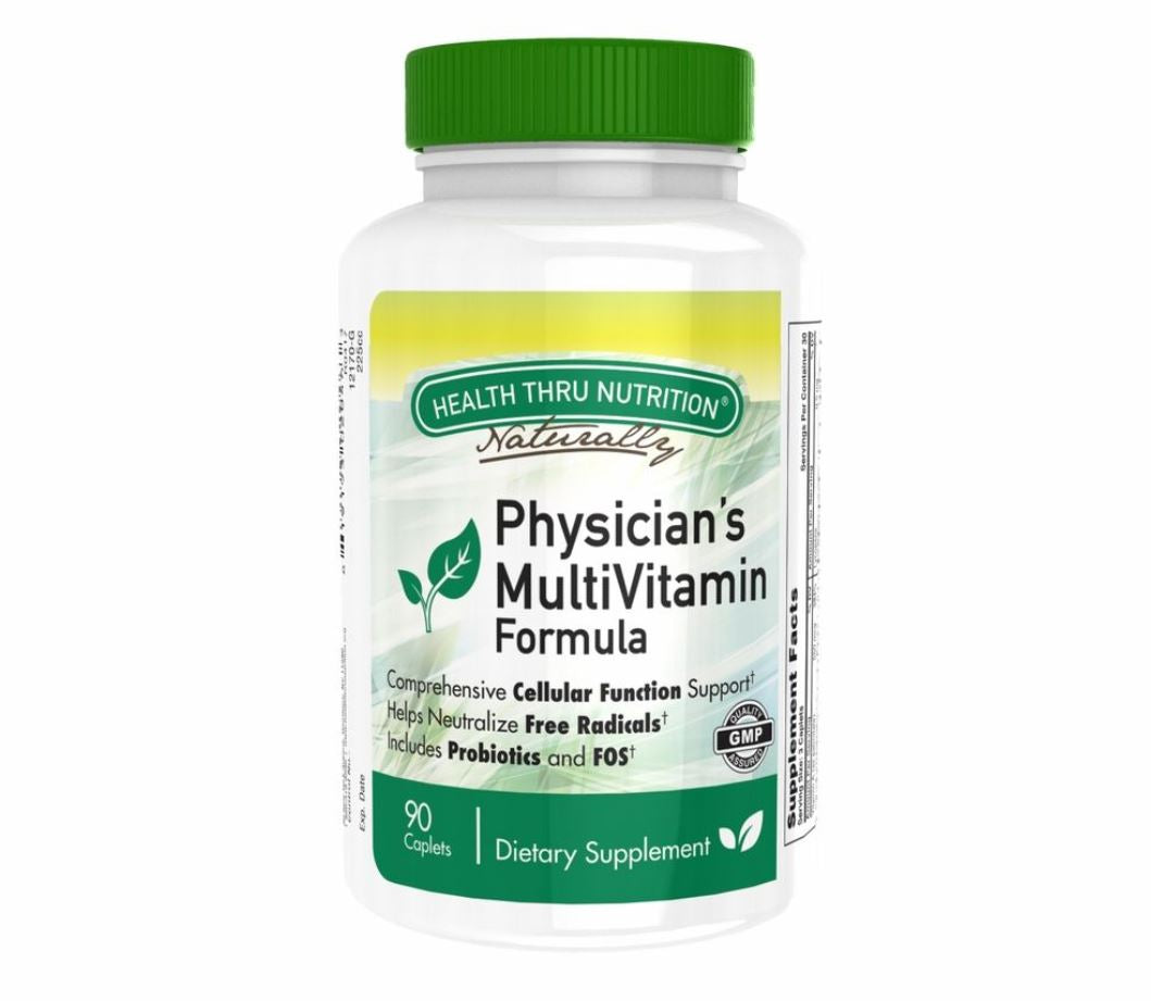 Physician's Multi Vitamin Formula (90 Caplets / One Month Supply)