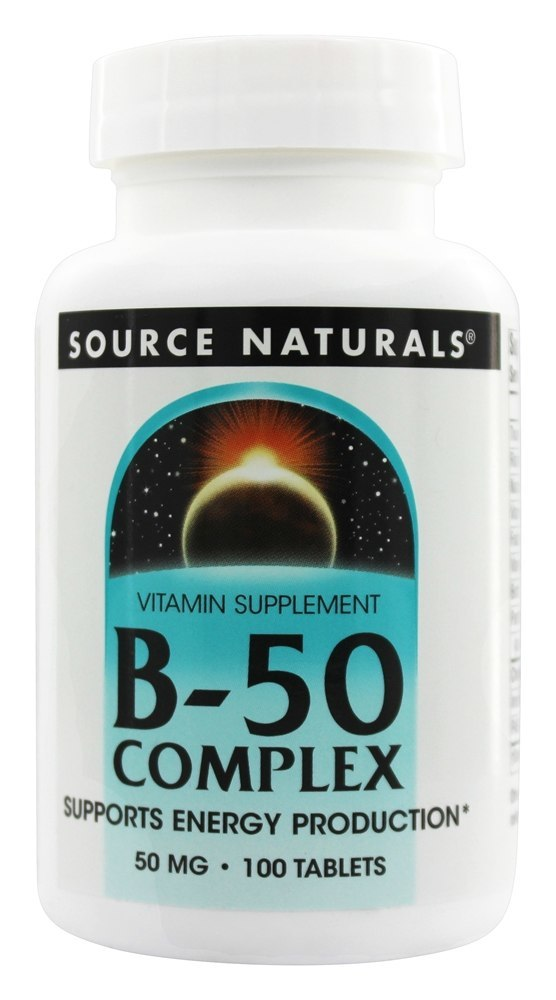 Source Naturals Source Naturals  B-50 Complex, 100 ea