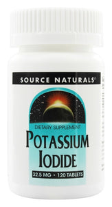 Source Naturals Source Naturals  Potassium Iodide, 120 ea