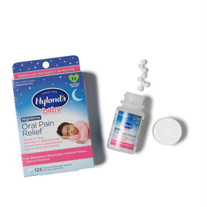 Hyland's Baby Nighttime Oral Pain Relief, 125 tablets