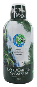 Tropical Oasis - Liquid Calcium Magnesium Orange Flavor - 16 fl. oz.