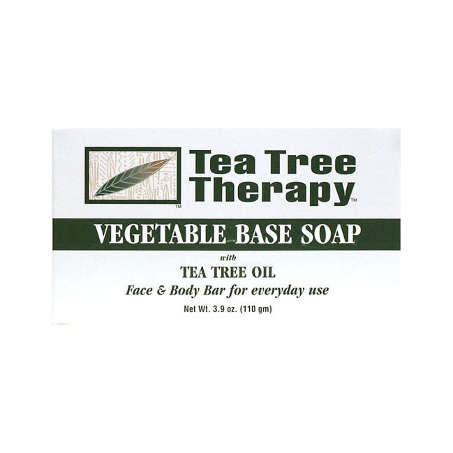 Tea Tree Therapy Vegetable Base Soap Bar with Tea Tree Oil 3.9 oz Bar(S)