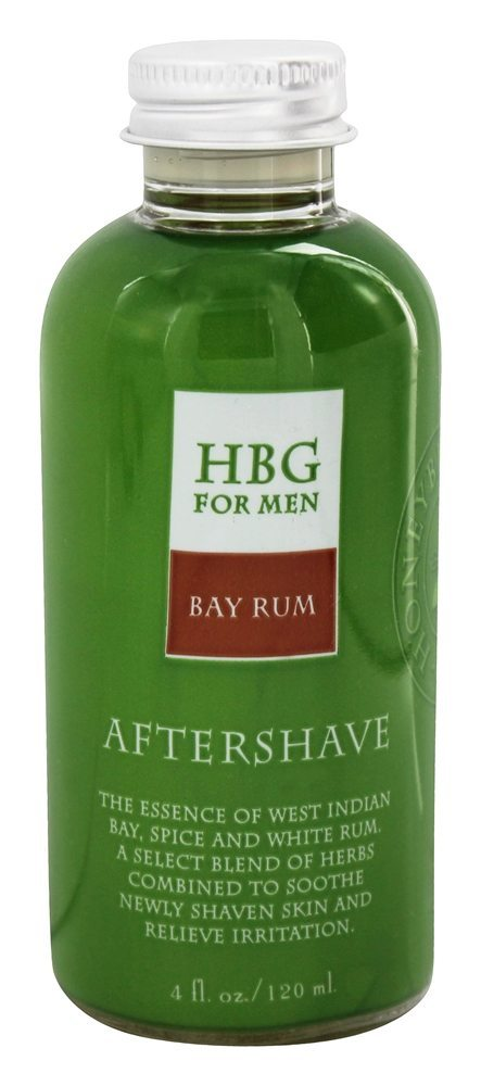 Honeybee Gardens - For Men Aftershave Bay Rum - 4 fl. oz.