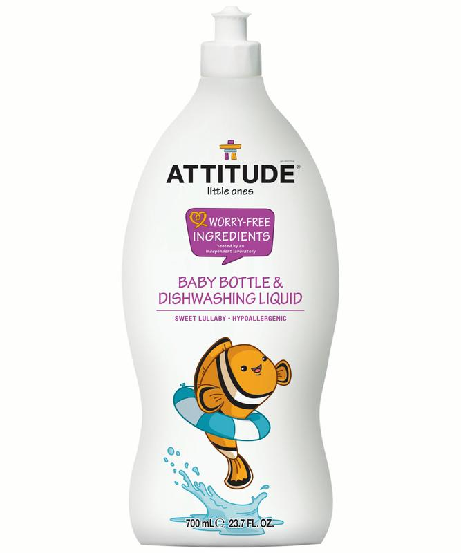 ATTITUDE Little Ones Dish Soap, Sweet Lullaby, 23.7 Fl Oz