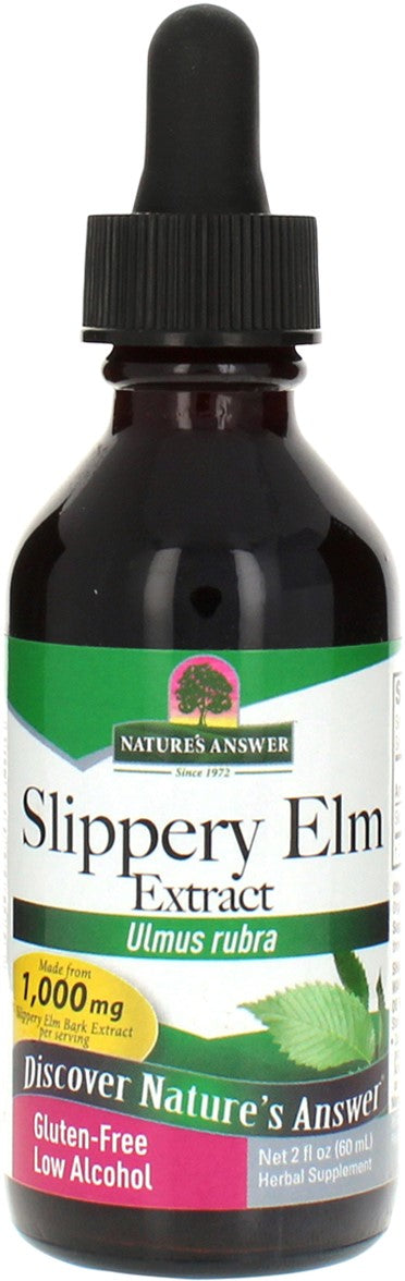 Nature's Answer  Fe Slippery Elm Bark 2 oz
