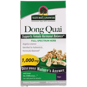 Nature s Answer  Dong Quai  1 000 mg  90 Vegetarian Capsules