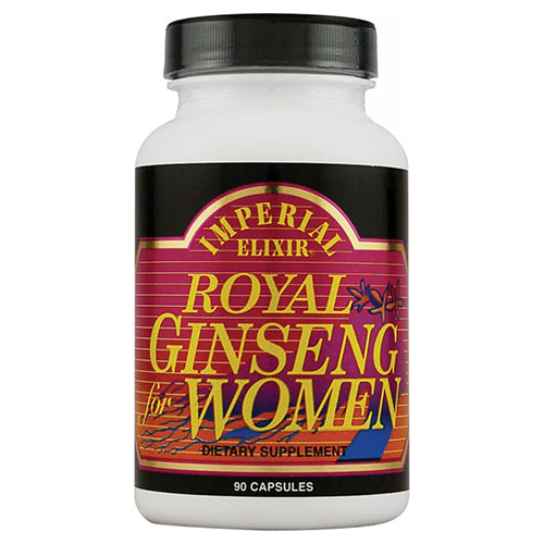 Ginco International Imperial Elixir  Royal Ginseng For Women, 90 ea
