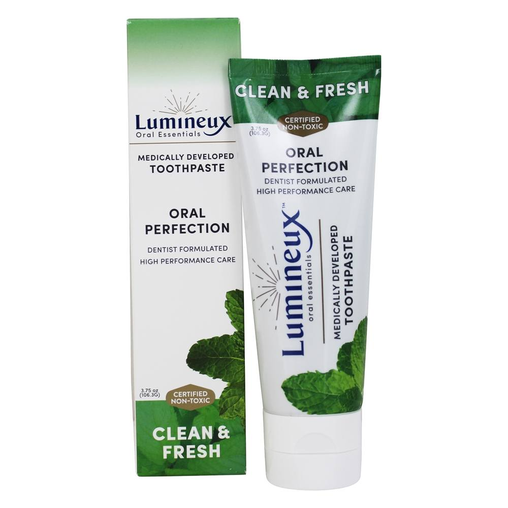 Lumineux Oral Essentials - Medically Developed Toothpaste Clean & Fresh - 3.75 oz.