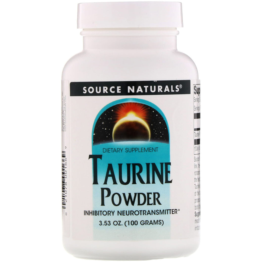 Source Naturals Source Naturals  Taurine , 3.53 oz