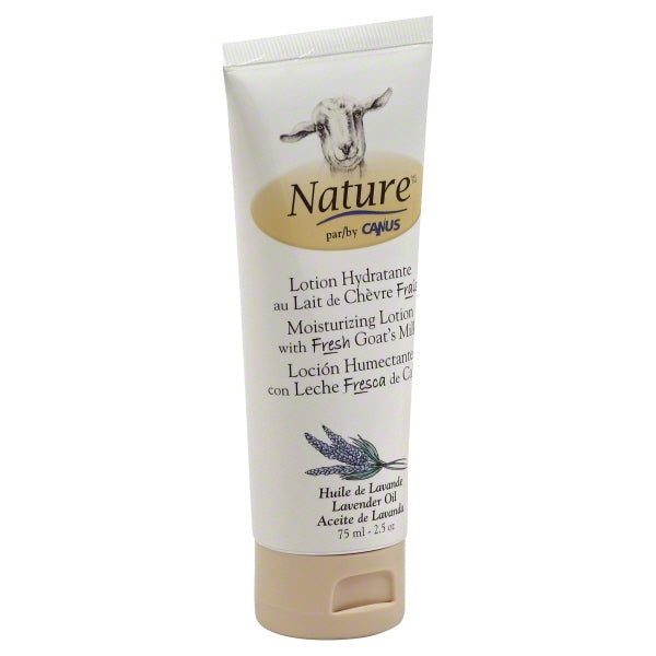 Nature By Canus Lotion - Goats Milk - Nature - Lavender Oil - 2.5 oz
