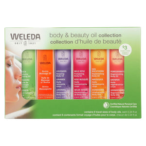 Weleda - Body and Beauty Oil Collection - 6 Count