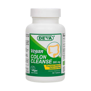 Deva Nutrition Vegan Colon Cleanse 595 Mg Tablets - 90 Ea