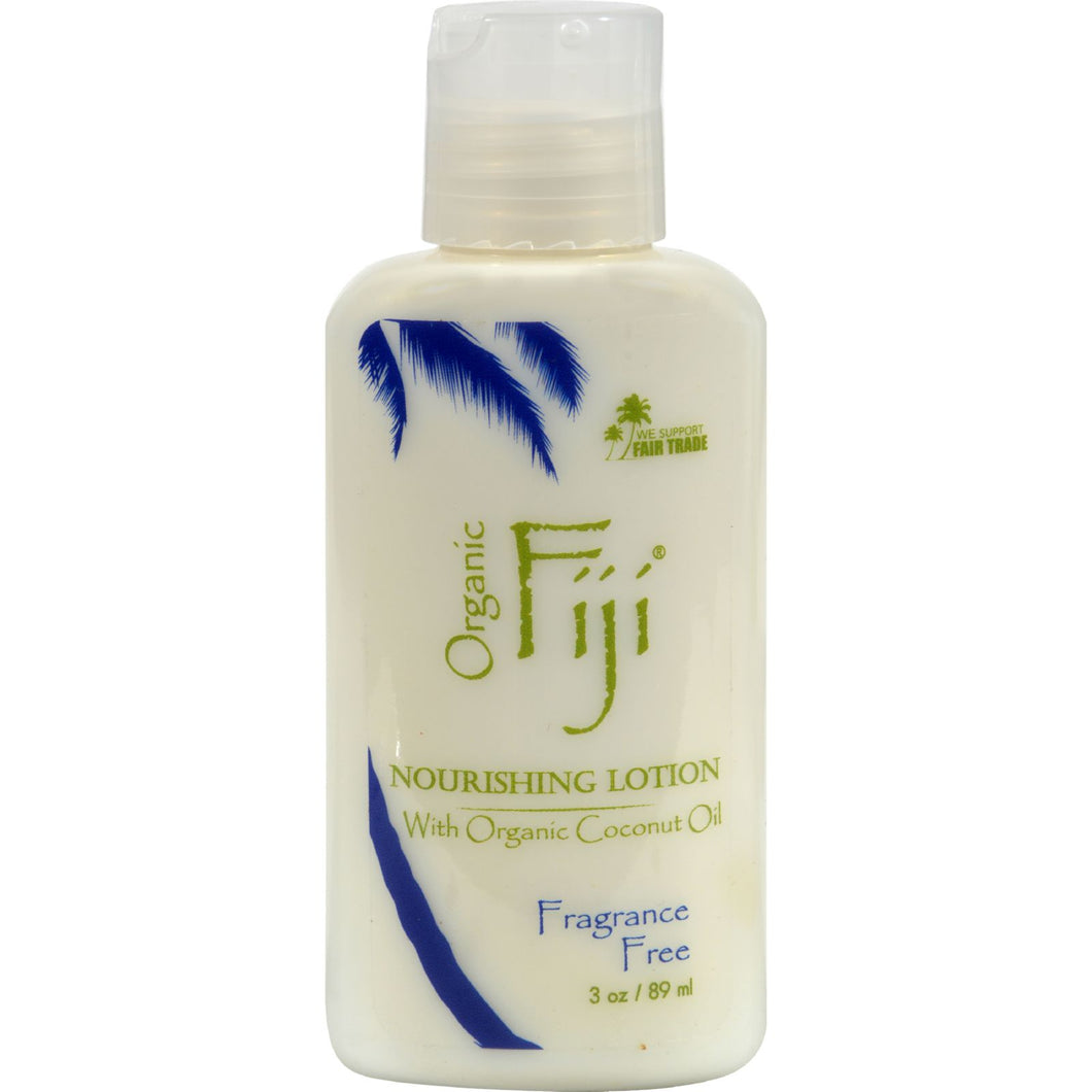Organic Fiji Nourishing Lotion Fragrance Free - 3 fl oz