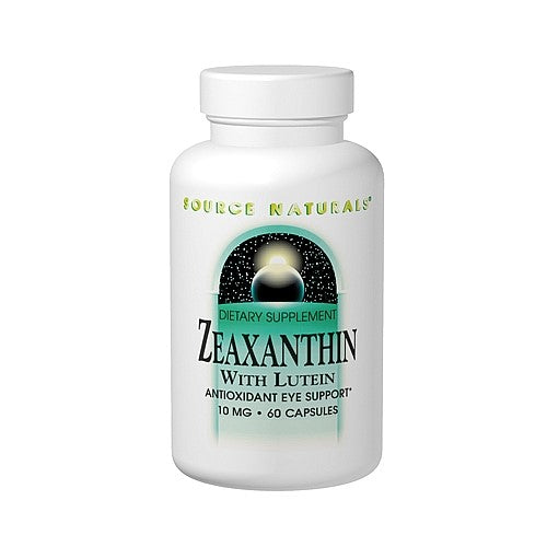 Source Naturals Zeaxanthin With Lutein 60 Capsules