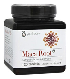 YOUTHEORY Herb Maca Root Women's, 120 Count