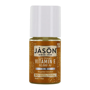 JASON Natural Products - Extra Strength Vitamin E Skin Oil 32000 IU - 1.1 fl. oz.