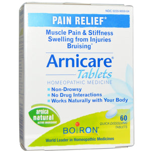 Boiron Arnicare Pain Relief 60 Quick-Dissolving Tablets