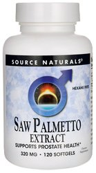 Source Naturals Source Naturals  Saw Palmetto Extract, 120 ea