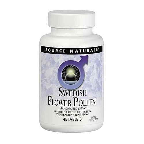 Source Naturals Swedish Flower Pollen 90 Tablets