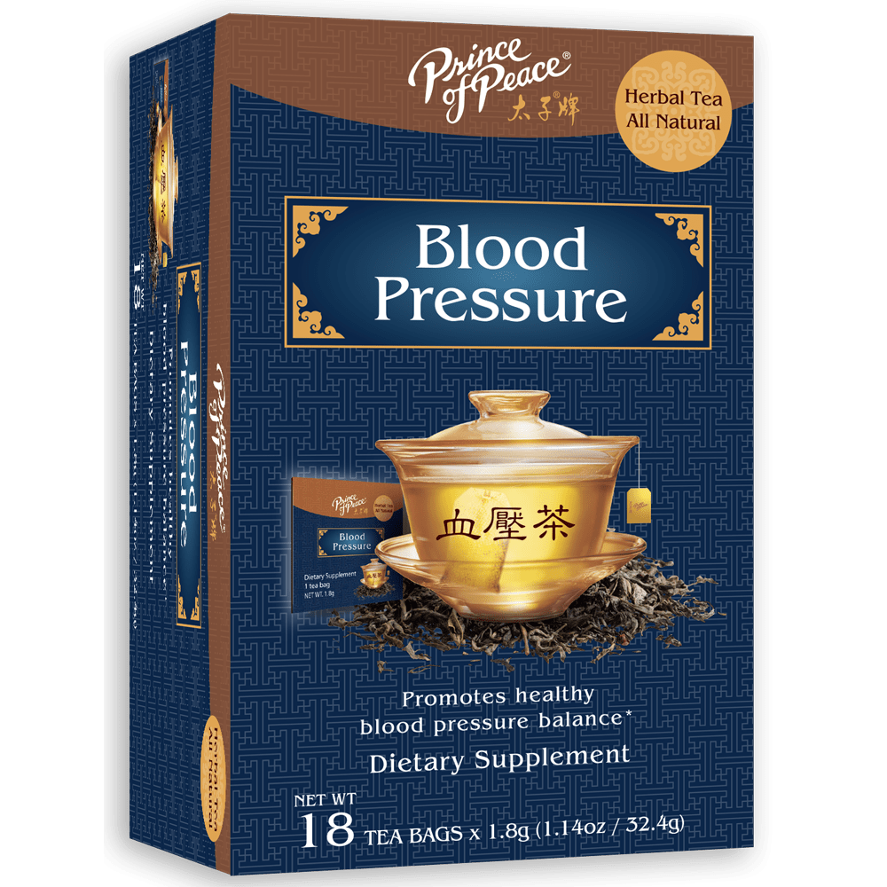 Prince of Peace Tea - Herbal - Blood Pressure - 18 Bags
