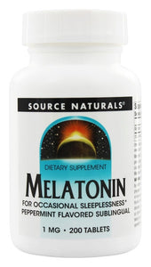 Source Naturals Source Naturals  Melatonin, 200 ea