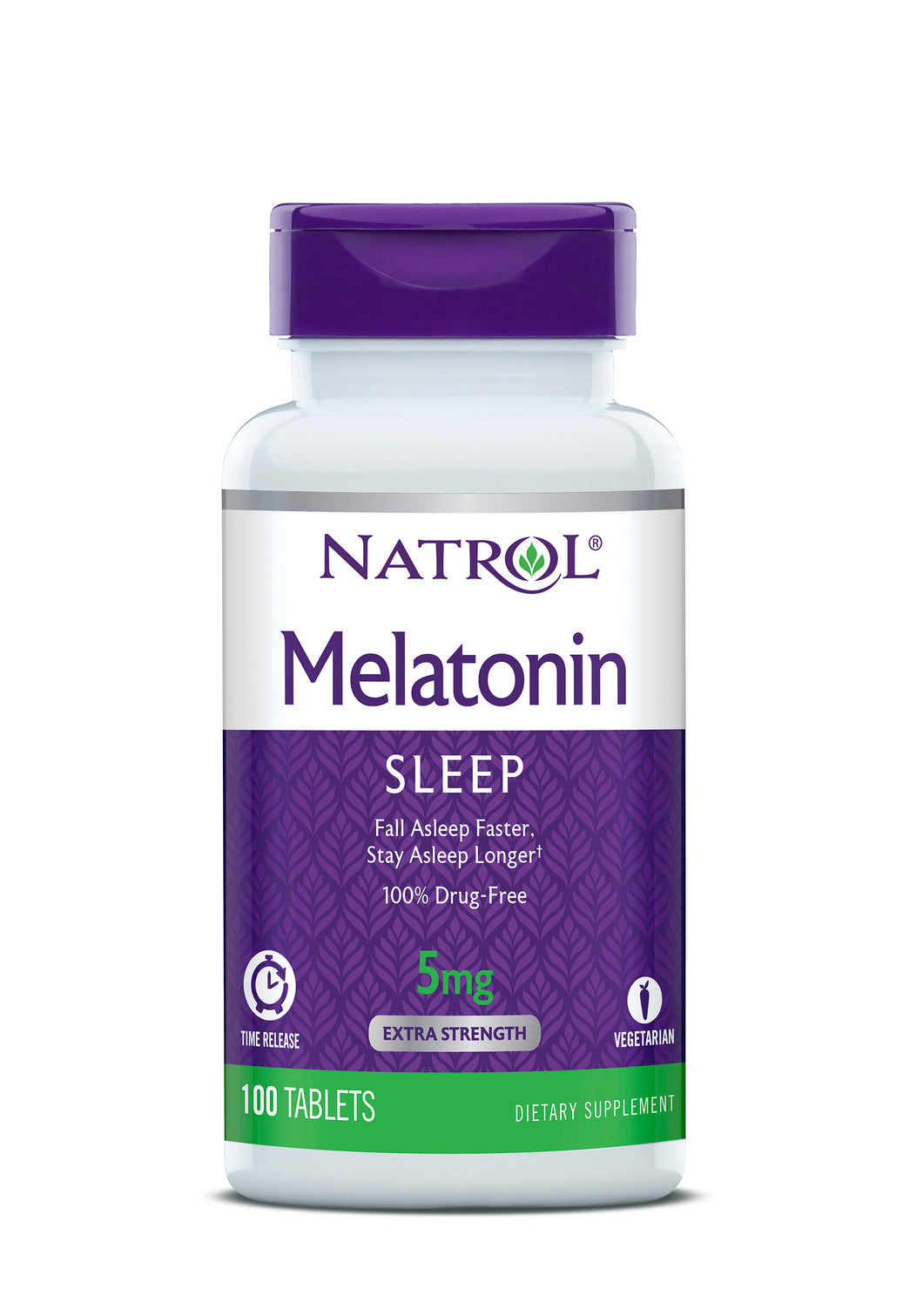 Natrol Dietary Supplement Melatonin TR Time Release 5 mg - 100 CT