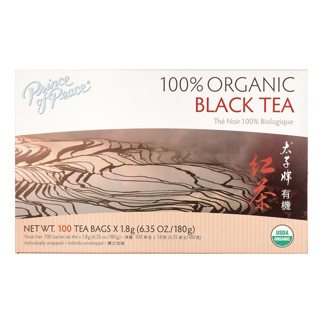 Prince of Peace Prince of Peace Organic Black Tea - 100 Bags