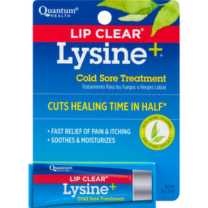 Quantum Health - Lip Clear Lysine Plus Ointment - 7 Grams