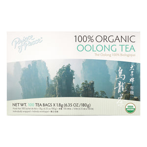 Prince Of Peace Organic Oolong Tea, 100 Ct