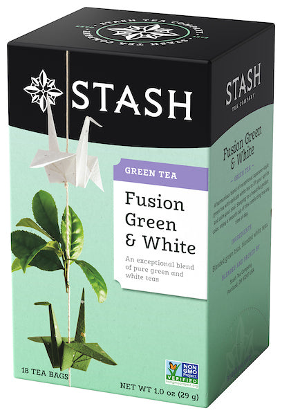 Stash Fusion Green & White Tea Bags, 18 Count, 1.0 Oz