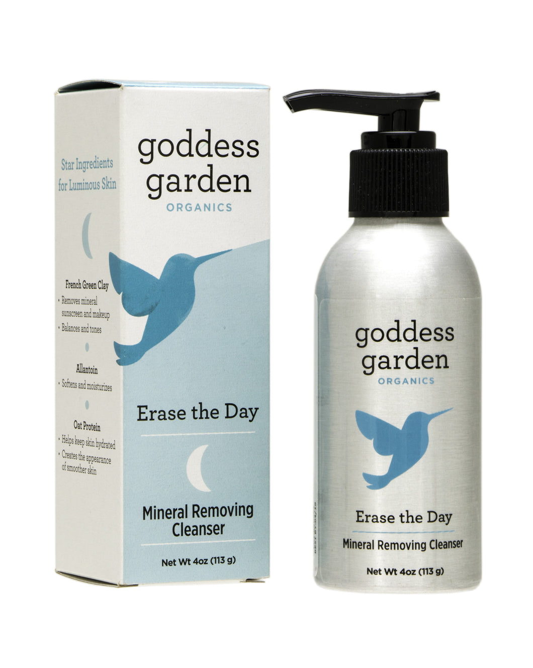 Goddess Garden Erase The Day Mineral Removing Cleanser, 4 Oz