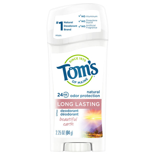 Tom's of Maine Long Lasting Natural Deodorant, Beautiful Earth, 2.25oz